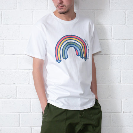Message Embroidery Tee (TP843)