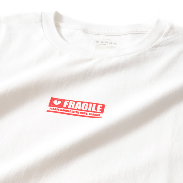 (ZT043) Fragile Graphic Print Tee