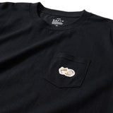 (ZT051) Angora Cat Pocket Tee