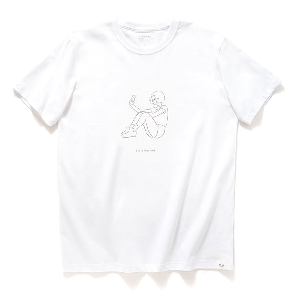 (ZT060) Mathilda Graphic Print Tee