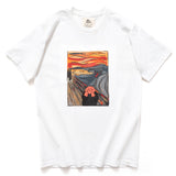 (ZT237) The Scream Graphic Tee
