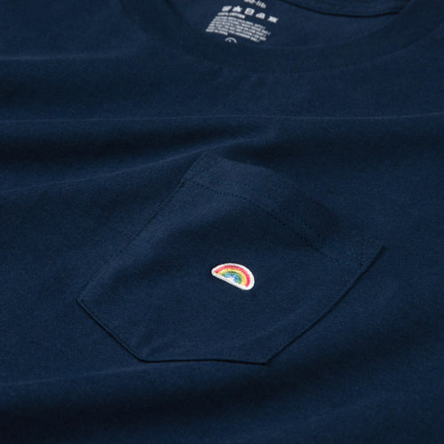 Rainbow Patch Pocket Tee (ZT905)