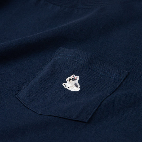 French Bulldog Patch Pocket Tee (ZT919)