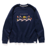(ZW213) Training Graphic Sweater