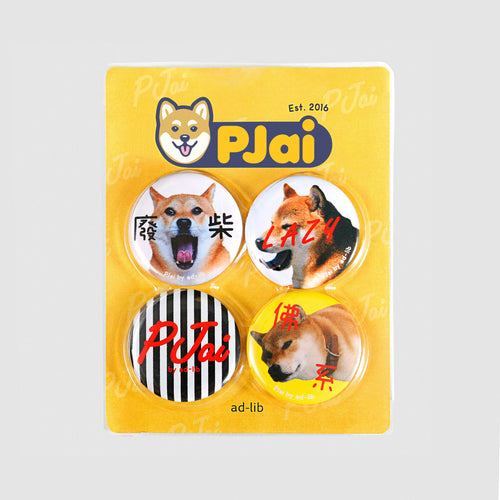 Pjai Badge Set (AA310)