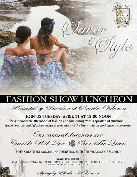 Savor & Style Fashion Event at Sheridan Boutique