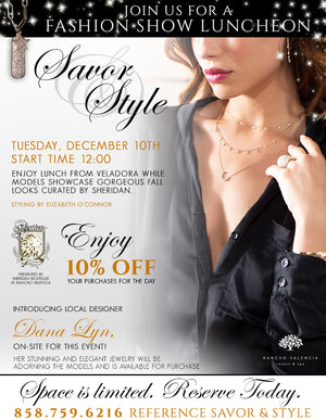 December Savor & Style Fashion Show
