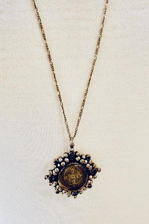 VSA Designs San Benito Cloister Charm Necklace-Jewelry-Virgins Saints & Angels-Sheridanboutique