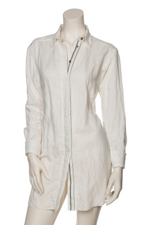 Beate Heymann Linen Long Shirt-Top-Beate Heymann-36/6-Sheridanboutique