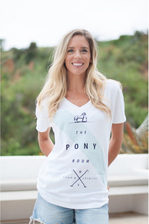 Rancho Valencia Resort Pony Room T-Shirt Short Sleeve-Top-Sheridanboutique-L-Sheridanboutique