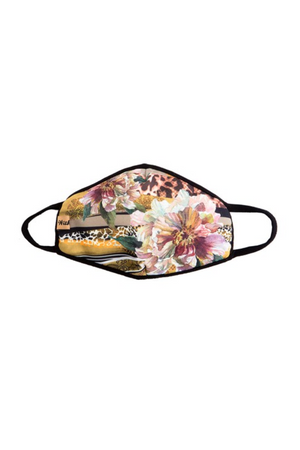 Fashion Face Mask Wild Flower-Health & Wellness-Three Wild Horses-Sheridanboutique
