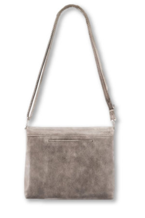 Hammitt VIP Clutch in Pewter (brushed silver)-Handbag-Hammitt-Sheridanboutique