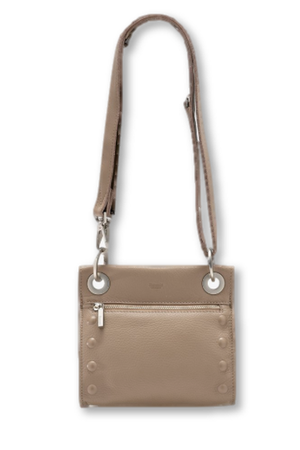 Hammitt Tony Embossed Crossbody Bag in Quicksand-Handbag-Hammitt-Sheridanboutique