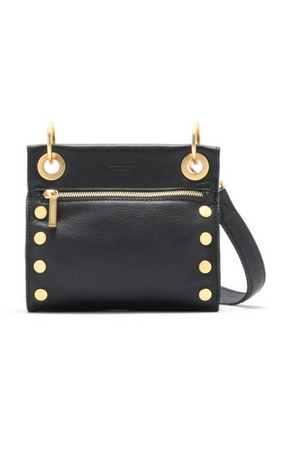 Hammitt Black/Brushed Gold Tony Handbag-Handbag-Hammitt-Sheridanboutique