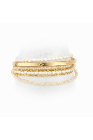 Taylor and Tessier Gaia Wire Wrap Bracelet-Jewelry-Taylor & Tessier-Sheridanboutique