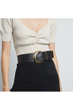 B-Low The Belt Black Wide Waist Belt-Accessories-B-Low The Belt-S-Sheridanboutique