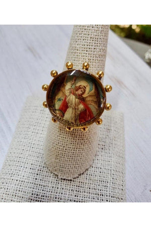 VSA Designs Ring Heavenly San Miguel size 7.5-Jewelry-Virgins Saints & Angels-Sheridanboutique