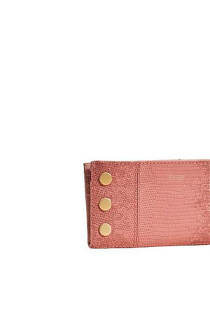 Hammitt 110 North Wallet in Tile Blush/Brushed Gold-Handbag-Hammitt-Sheridanboutique