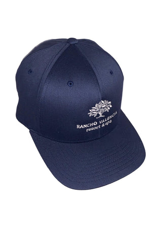 Dark Slate Gray Rancho Valencia Resort Logo Baseball Cap Navy