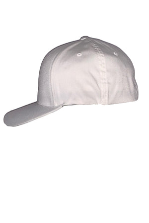 Antique White Rancho Valencia Resort Logo Baseball Cap White
