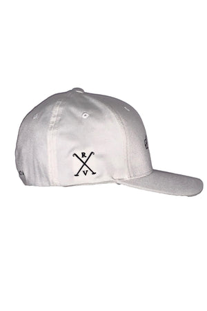 Misty Rose Rancho Valencia Resort Pony Room Logo Baseball Cap White