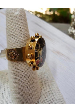 VSA Designs Ring Passion is the Sword size 7-Jewelry-Virgins Saints & Angels-Sheridanboutique