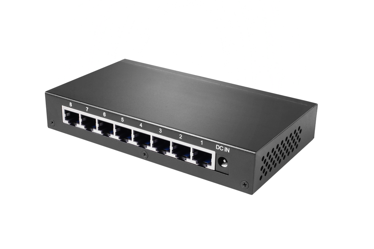 Silent Angel Bonn N8 - TCXO Audiophile Ethernet Network Switch