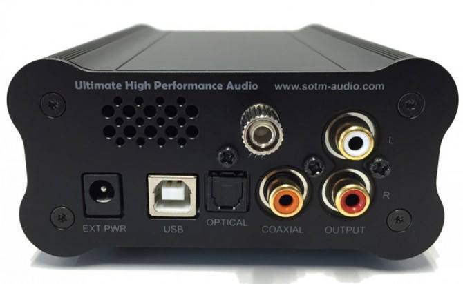 sHP-100 DAC/Headphone Amp