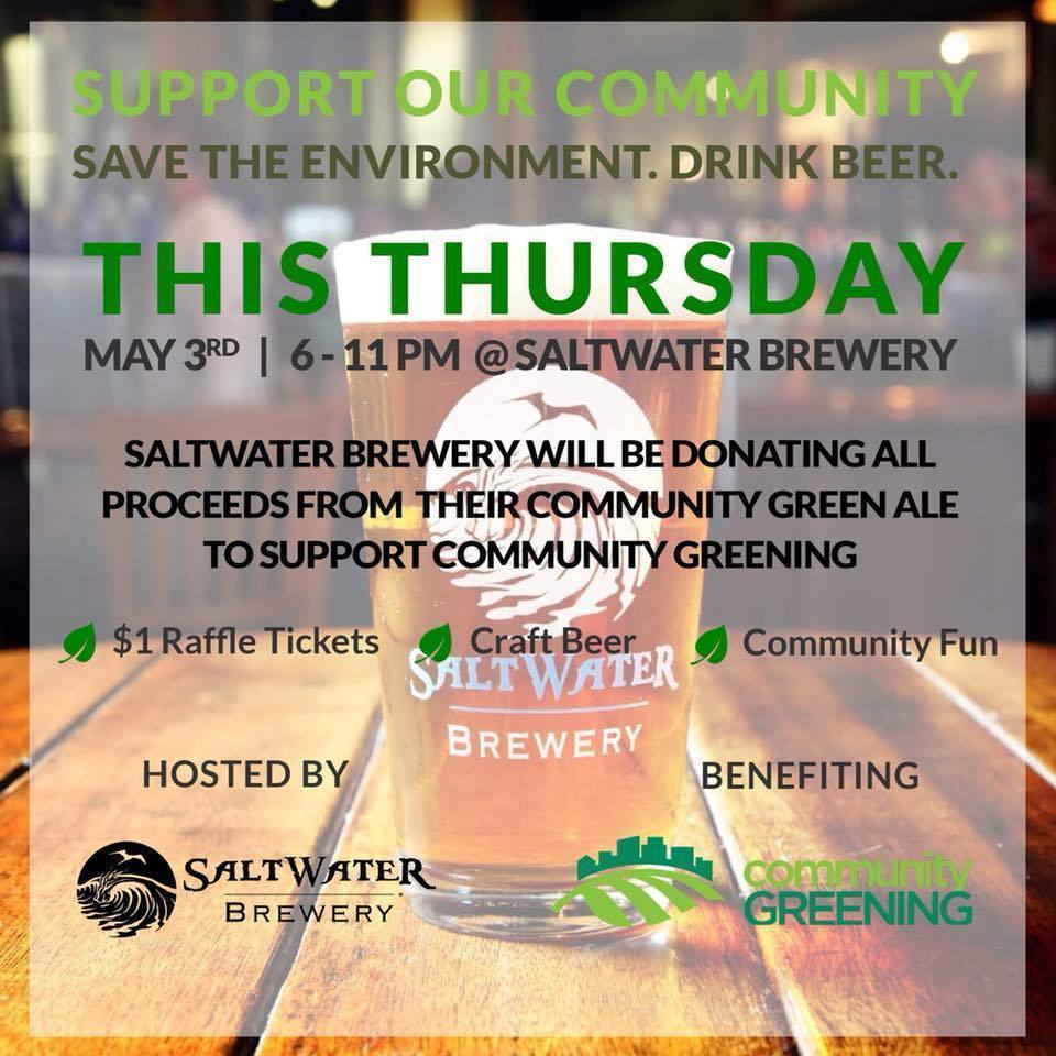 What's Brewing at Saltwater Brewery - May 3rd