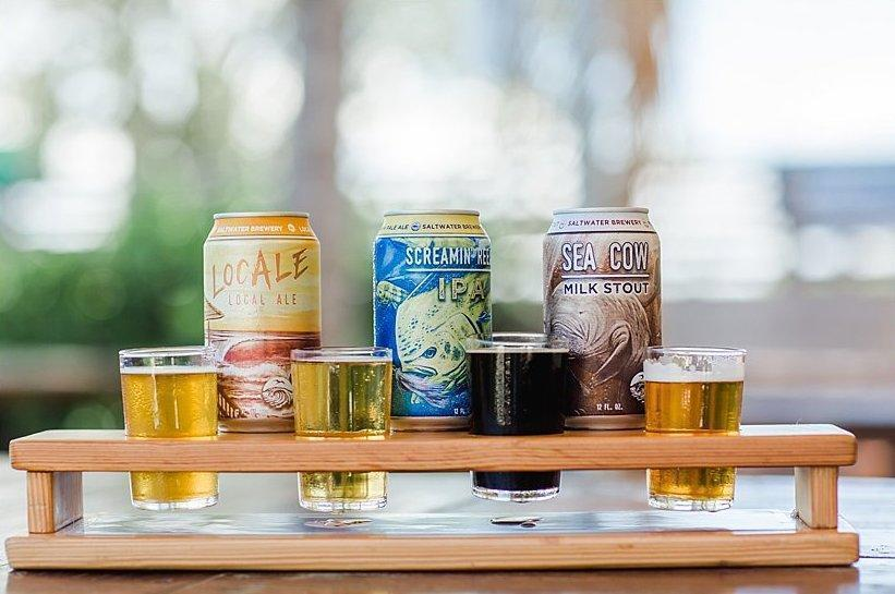 What's Brewing at Saltwater Brewery - August 17