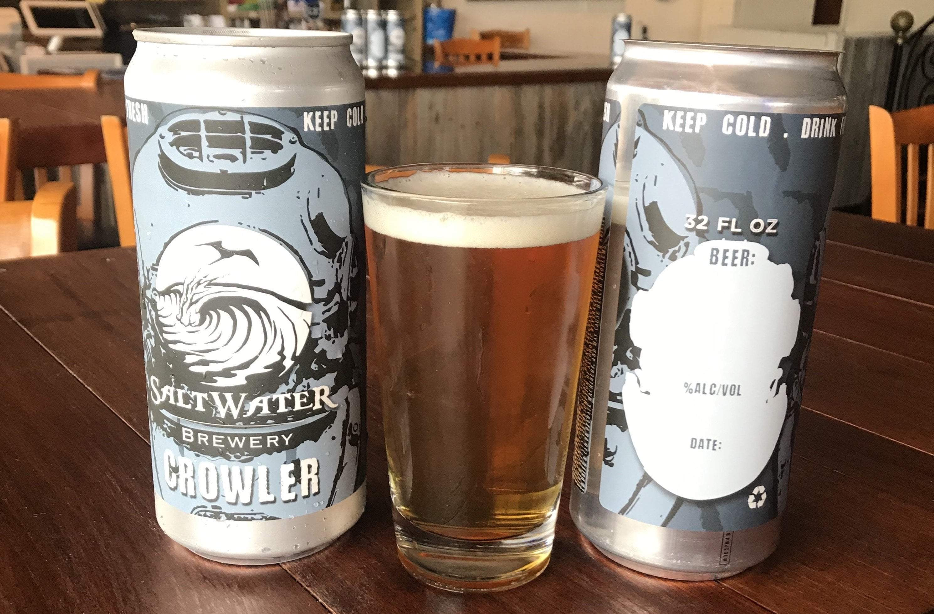 What's Brewing at Saltwater Brewery - April 4th