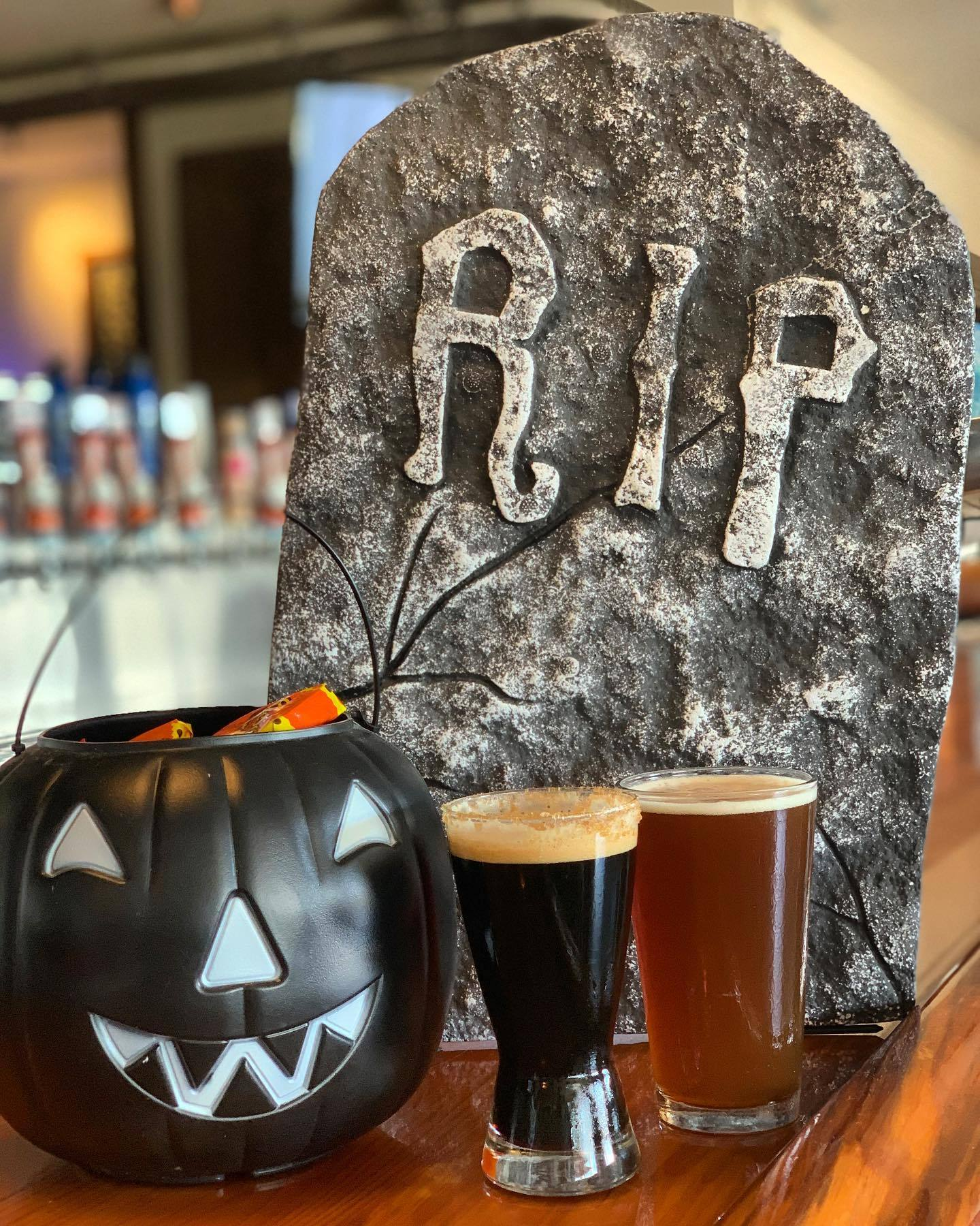 Happy Halloween from Saltwater Brewery!