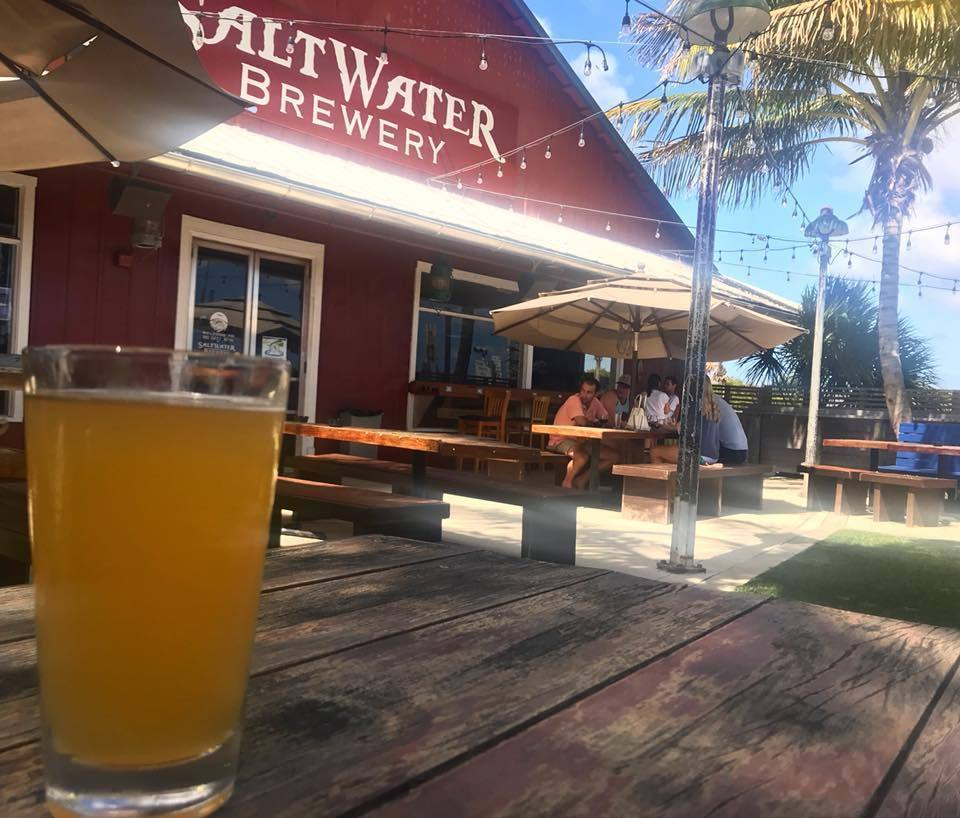 What's Brewing at Saltwater Brewery - August 9