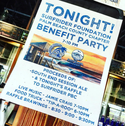 Saltwater Brewery - Surfrider Foundation
