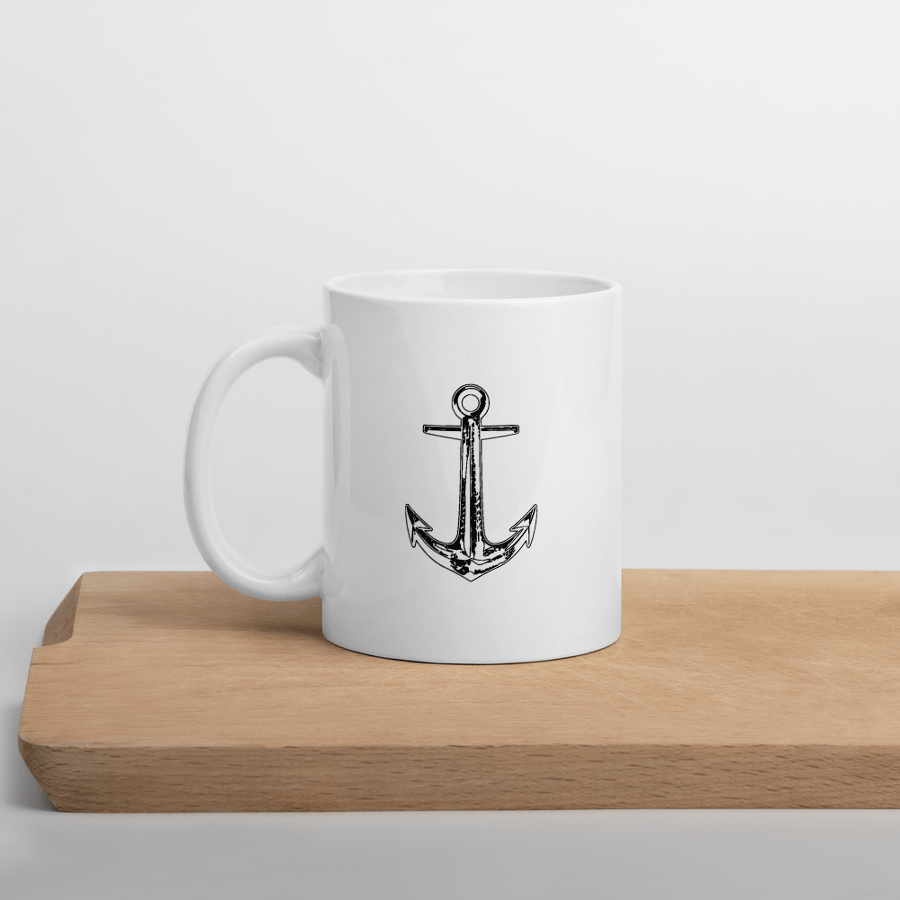 SaltWater Brewery Anchor Mug