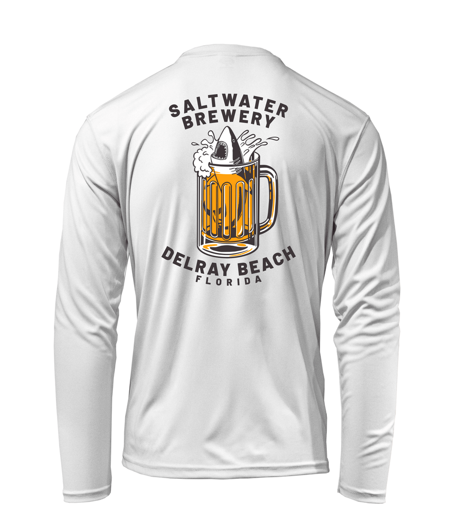 SaltWater Brewery BEER SHARK - UV Long Sleeve