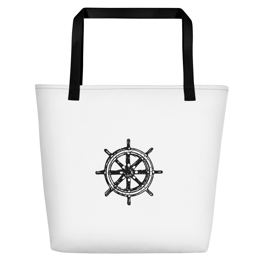 SaltWater Brewery Captains Helm Eco Beach Tote