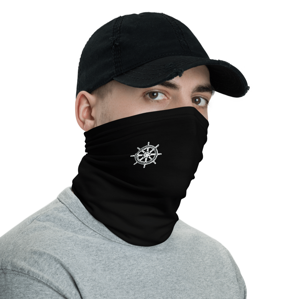 SaltWater Brewery Captains Wheel Neck Gaiter
