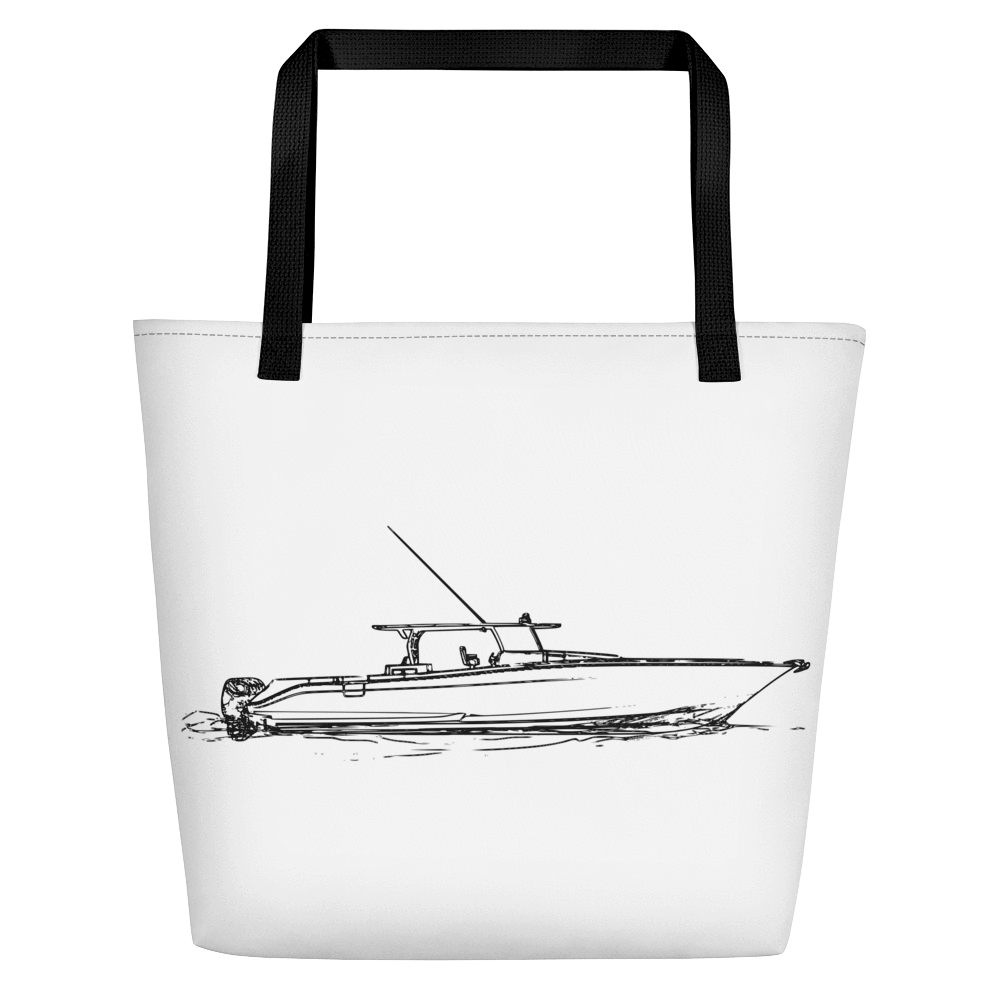 SaltWater Brewery Center Console Eco Boat Tote