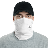 Clean White Frigate Neck gaiter