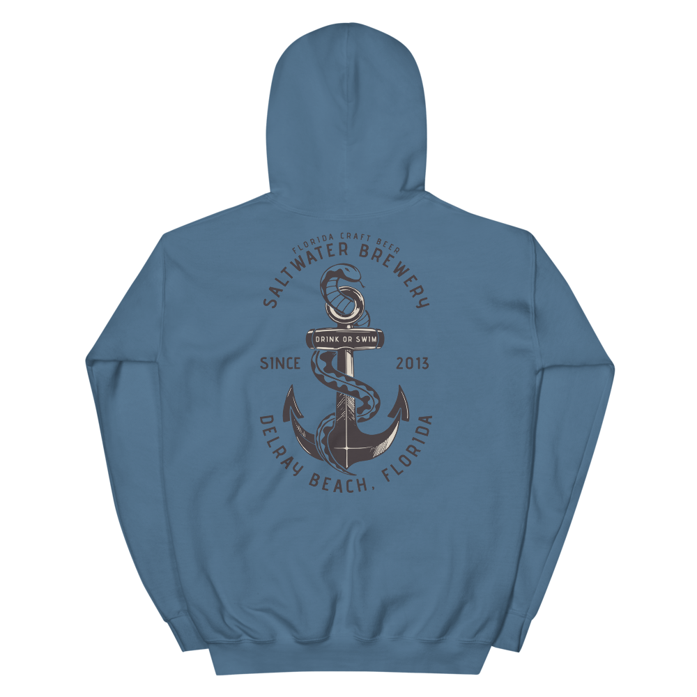 SaltWater Brewery Drink or Swim Unisex Hoodie
