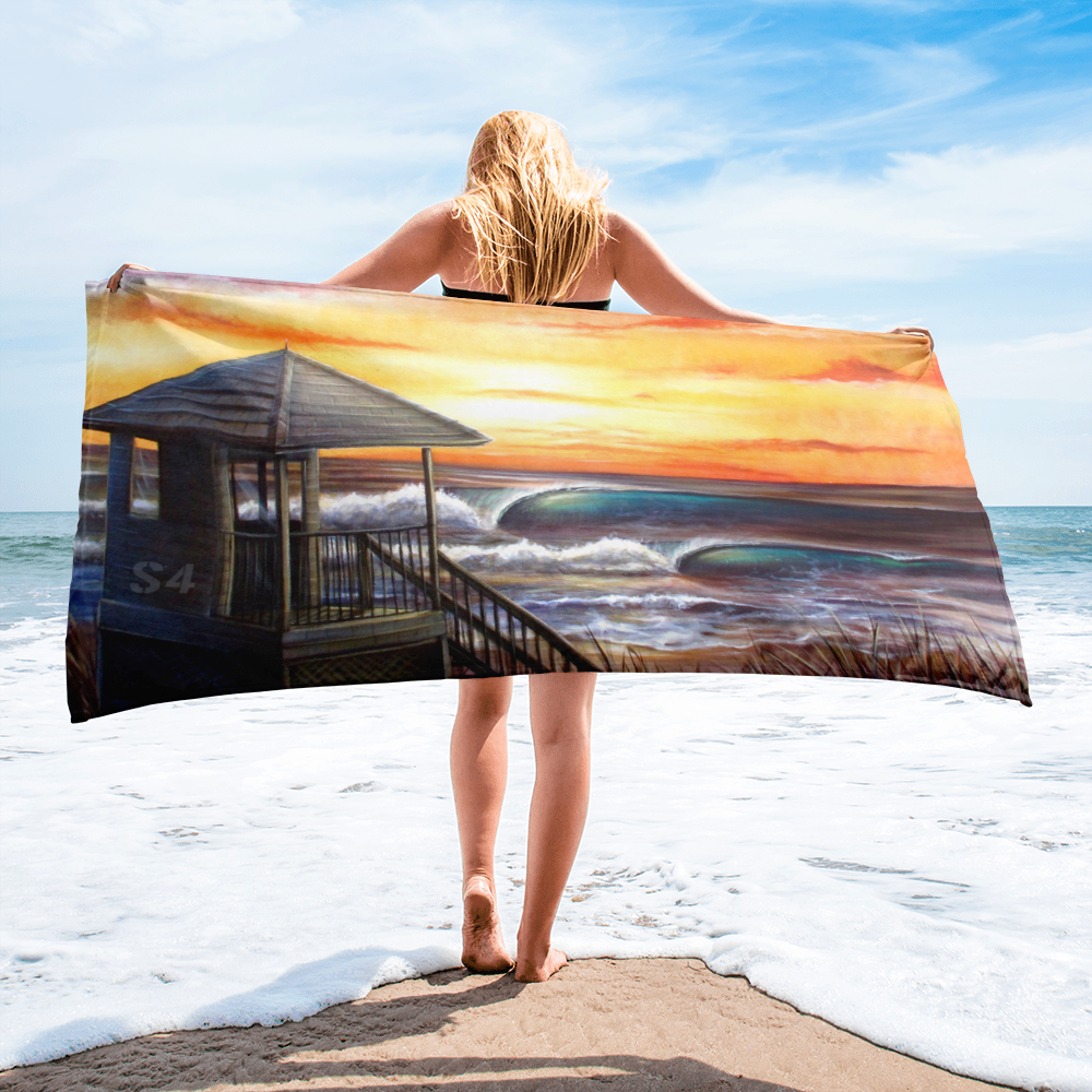 SaltWater Brewery Endless Summer Swell Towel