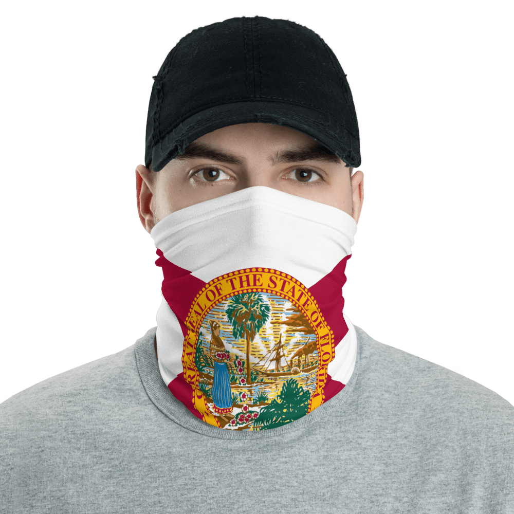 SaltWater Brewery Florida Flag Neck Gaiter