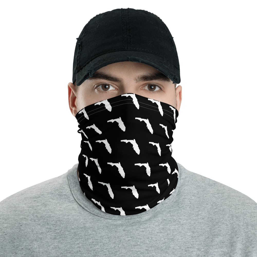 SaltWater Brewery Florida Pattern Neck Gaiter