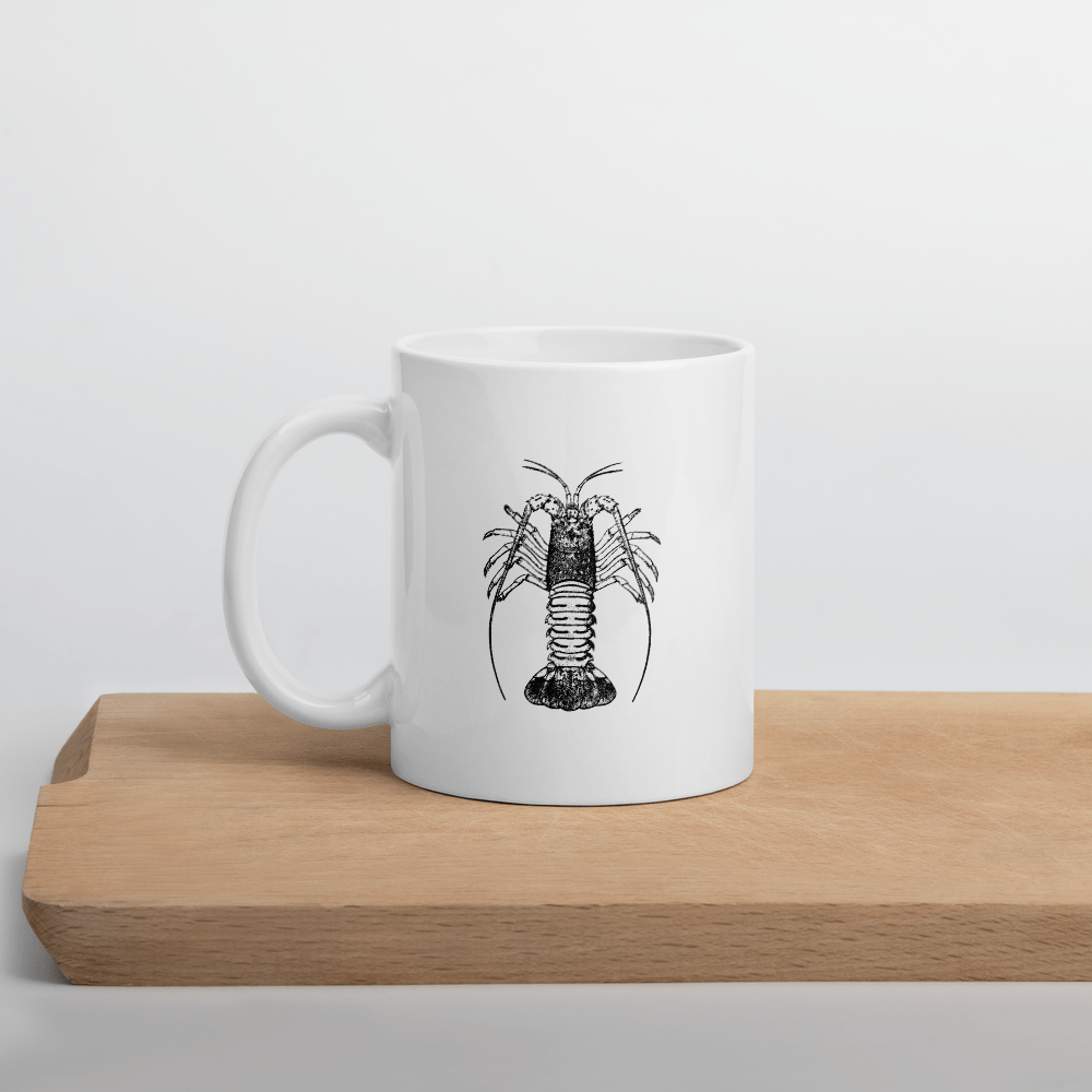 SaltWater Brewery Florida Spiny Tail Lobster Mug