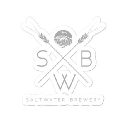 SaltWater Brewery Grain Logo Sticker