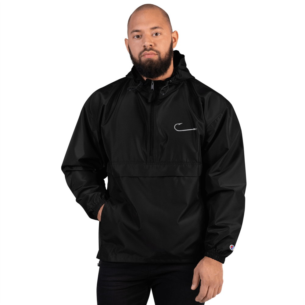 SaltWater Brewery Hook Embroidered Champion Packable Jacket