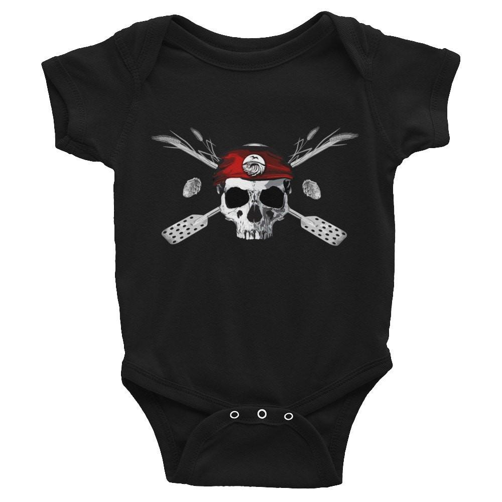 SaltWater Brewery Jolly Roger - Infant Bodysuit