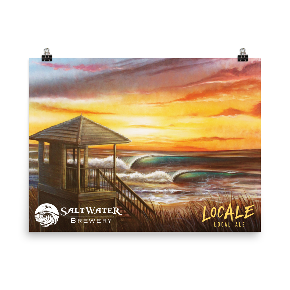 SaltWater Brewery LocAle Poster