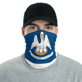 Louisiana Flag Neck Gaiter